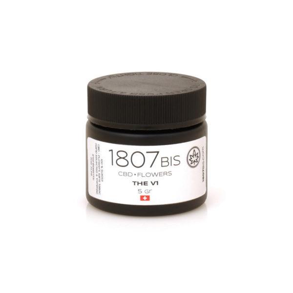 V1 CBD Flower Jar